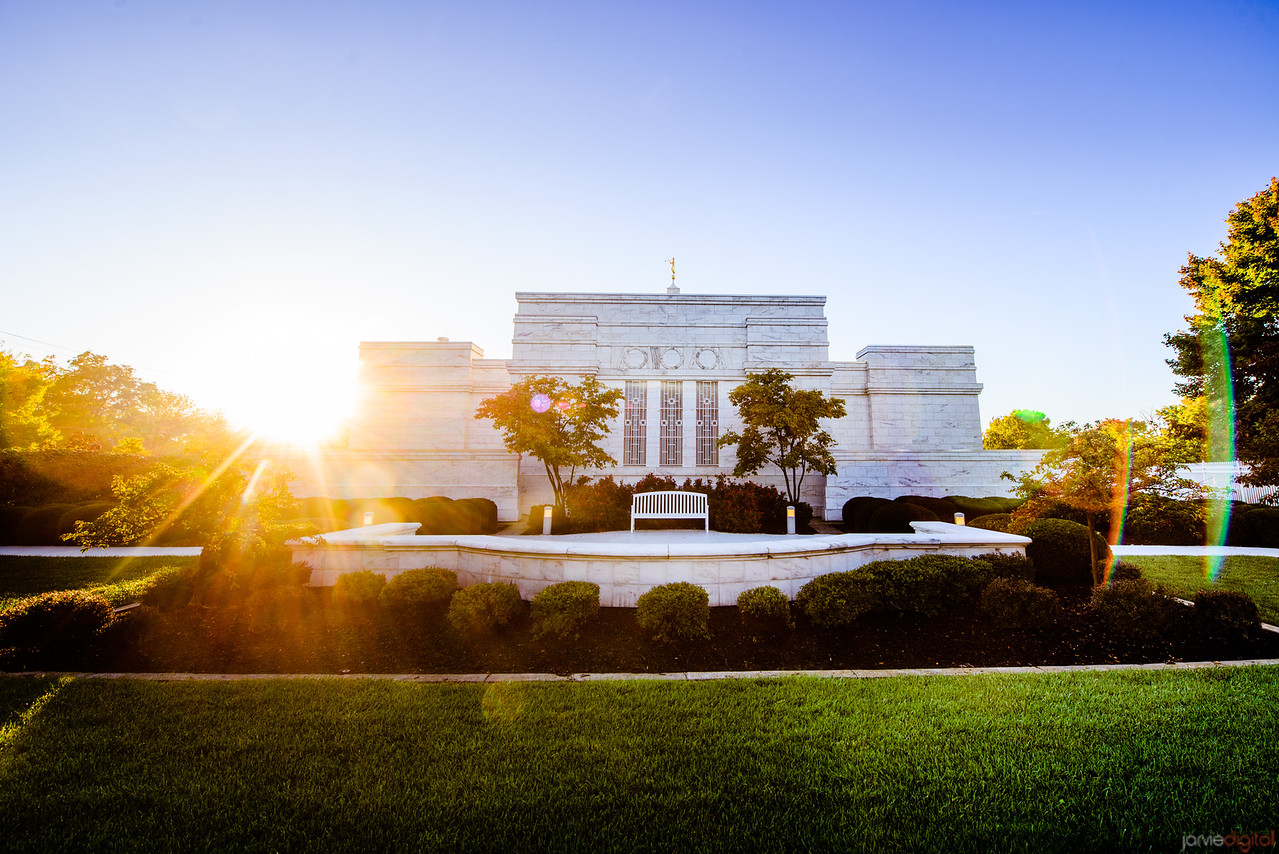Columbus Ohio Temple Sunflare