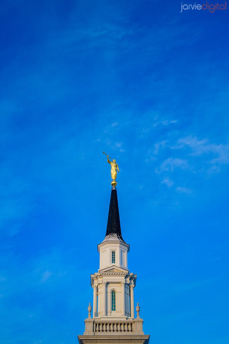 Connecticut LDS Temple - the spire