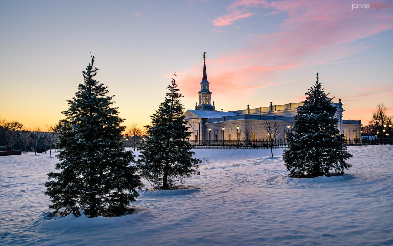 Connecticut LDS Temple - 3 Pines