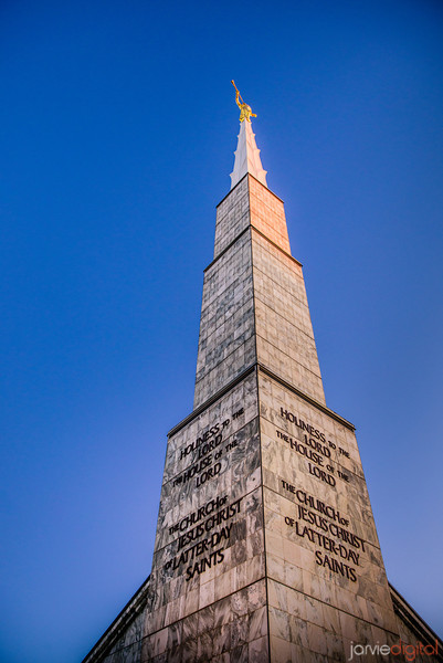 Dallas Temple Spire Color
