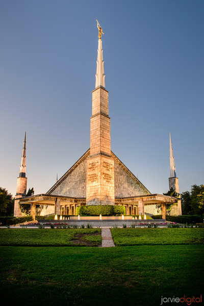 Dallas Temple Twilight
