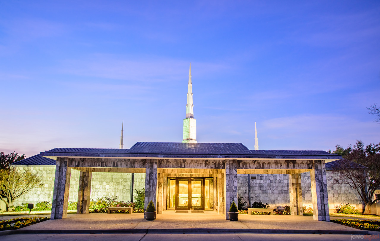 Dallas Temple - Entrance