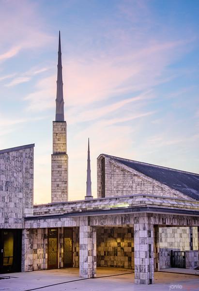 Dallas Temple - Morning Spires