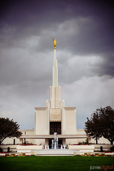Denver Temple Vertical