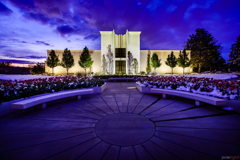 Denver Temple Benches