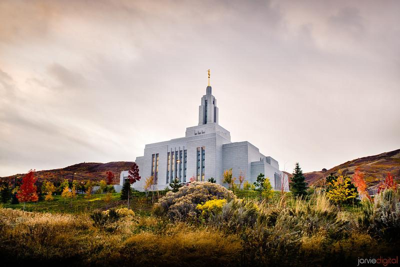 Draper Temple Fall Hill