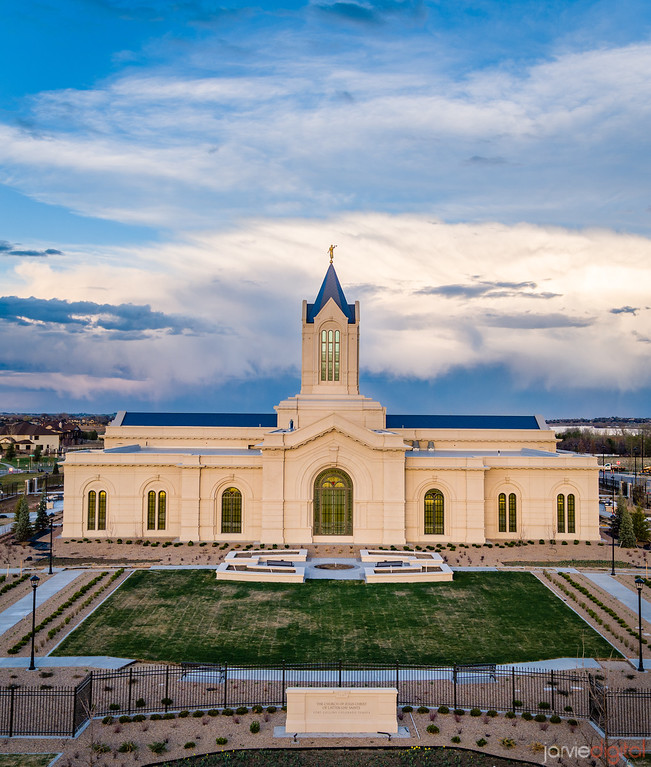 Fort Collins temple - West side