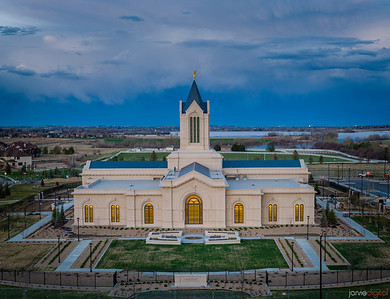 Fort Collins Temple - North Side