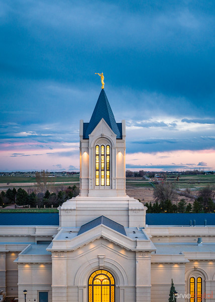 Fort collins Temple - Close up