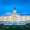 Fort Collins Temple - glowing