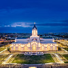 Fort Collins Temple - Evening glow