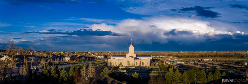 Fort Collins Temple - Panorama