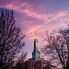 Fresno Temple Sunrise