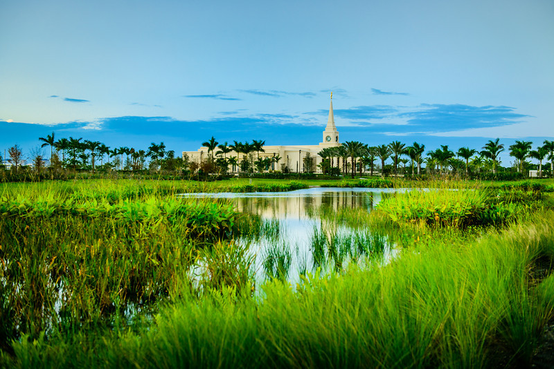 Ft Lauderdale Temple Pond