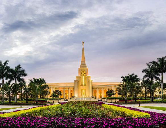 Ft Lauderdale Temple Entrance