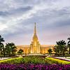 Ft Lauderdale Temple - Sunset Flowers