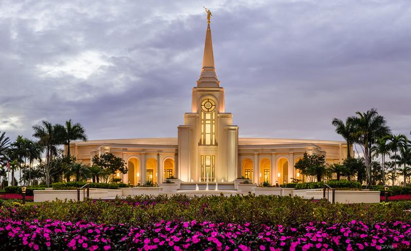 Ft Lauderdale Temple Front