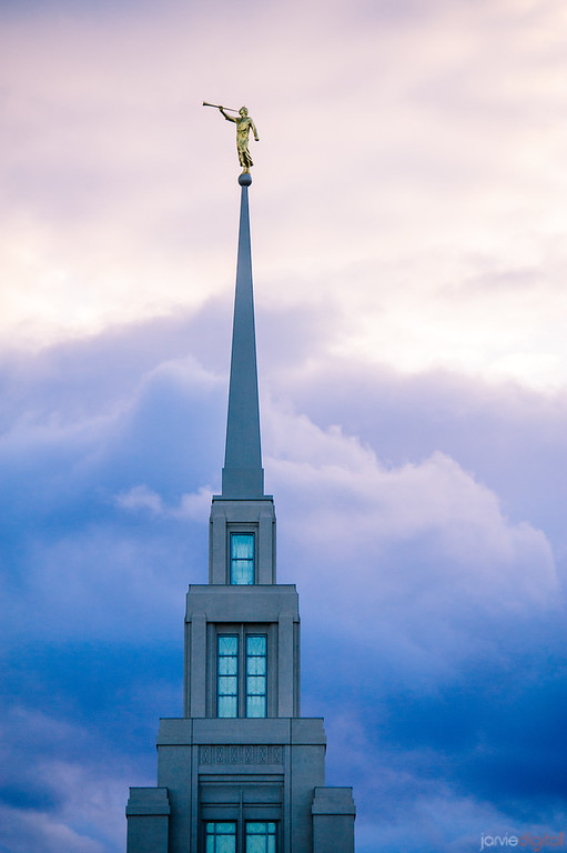 Gila Valley Temple Spire