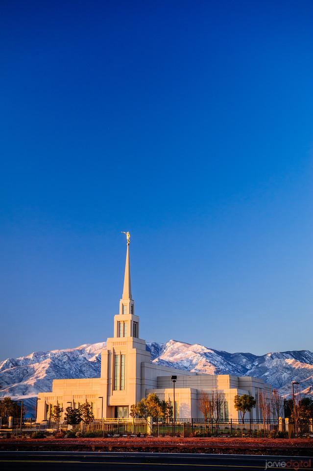 Gila Valley Snowy Mountains