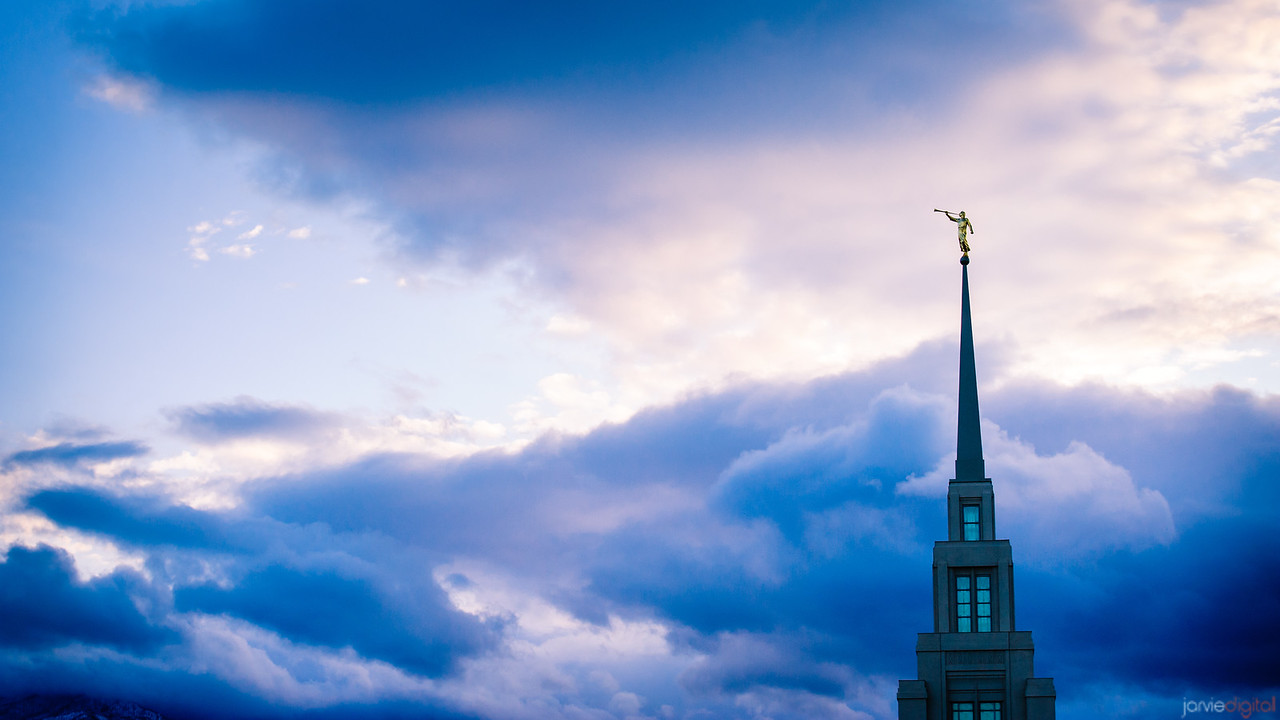 Gila Valley Temple Skies