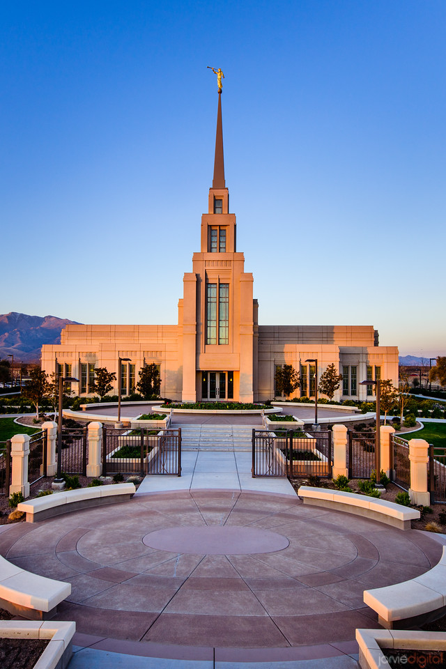 Gila Valley Temple High Vantage