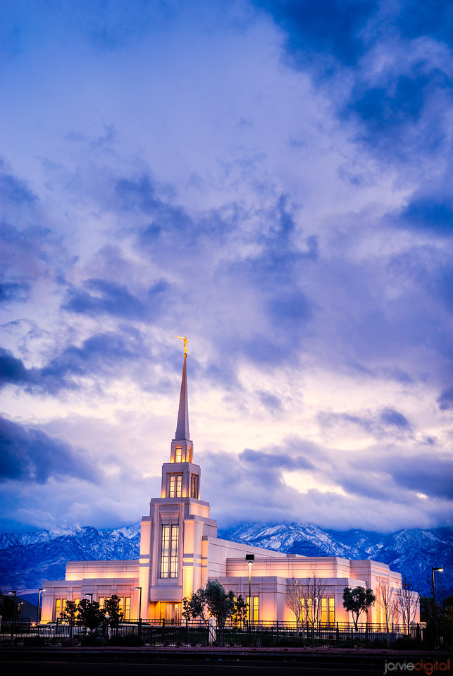 Gila Valley Temple (across the street)