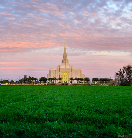 Gilbert Temple - Red and Green