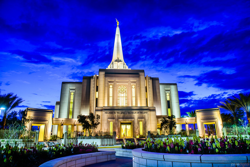 Gilbert Temple Front low