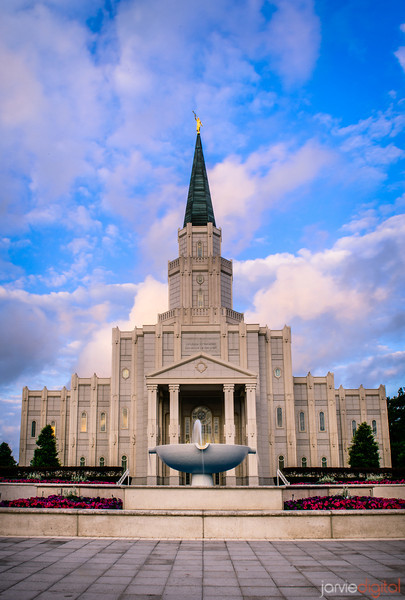 Houston Temple Vertical