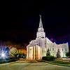 Houston Temple night