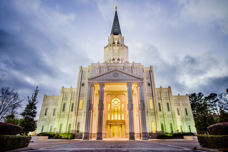 Houston Temple Horizontal