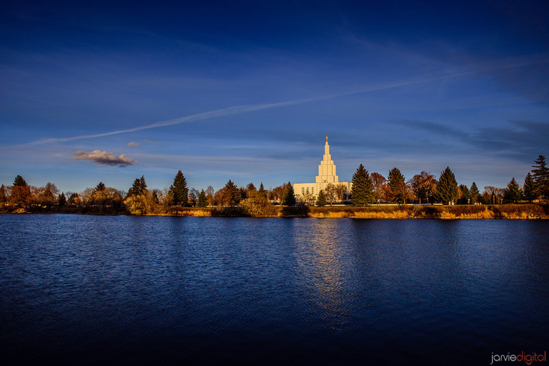 Pictures Idaho Falls Idaho Falls Temple Sunset With