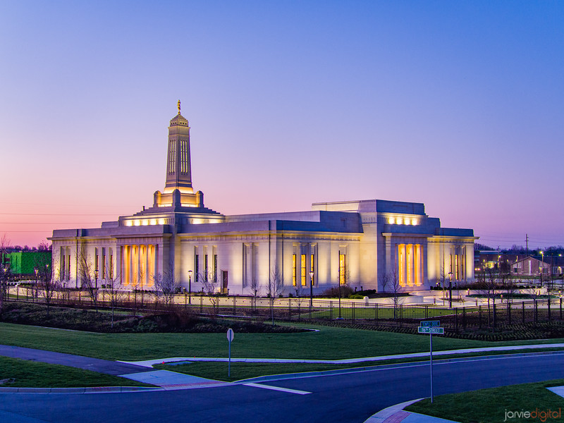 Indianapolis LDS Temple - 116th street