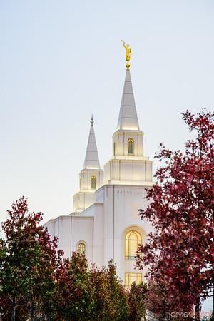 Kansas City Temple - Spires
