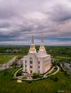 Kansas City Temple - From Above