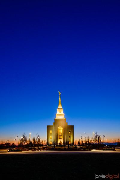 Kansas City Temple Vertical