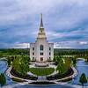 Kansas City Temple - Blue Above