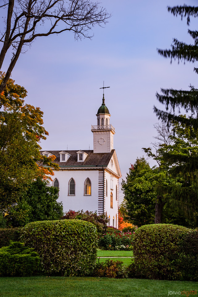 Kirtland Temple - morning light