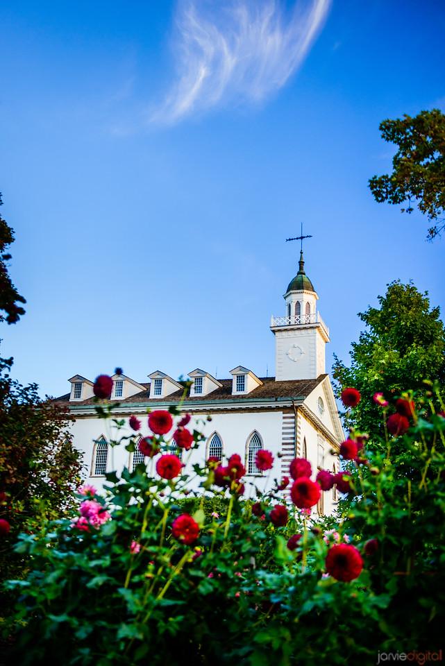 Kirtland Temple Flowers
