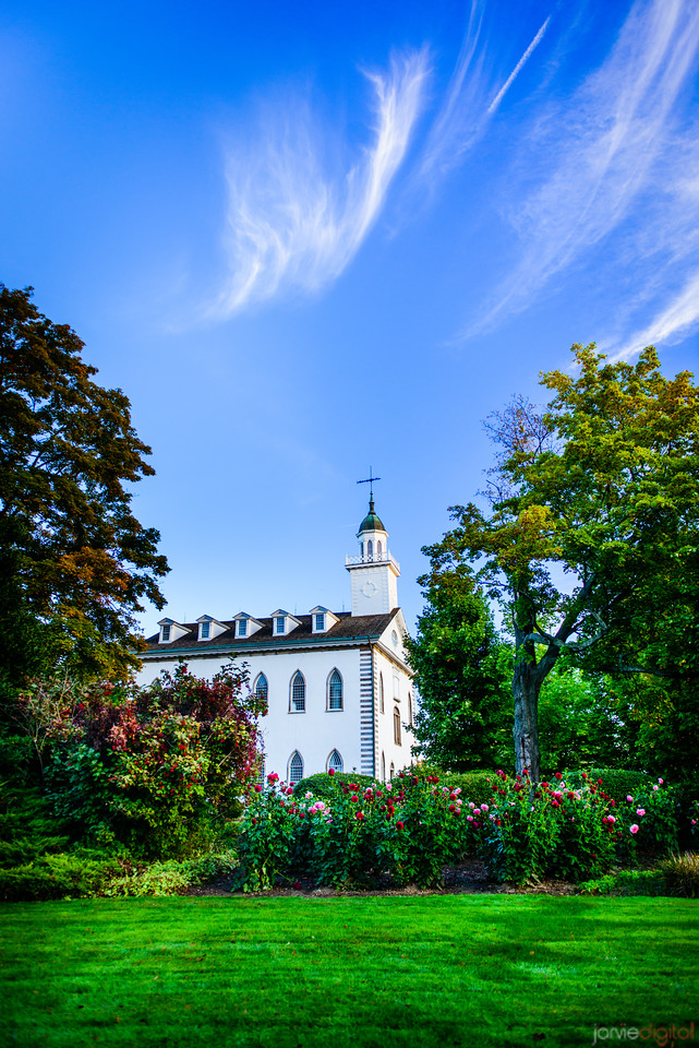 Kirtland Temple Morning Skies