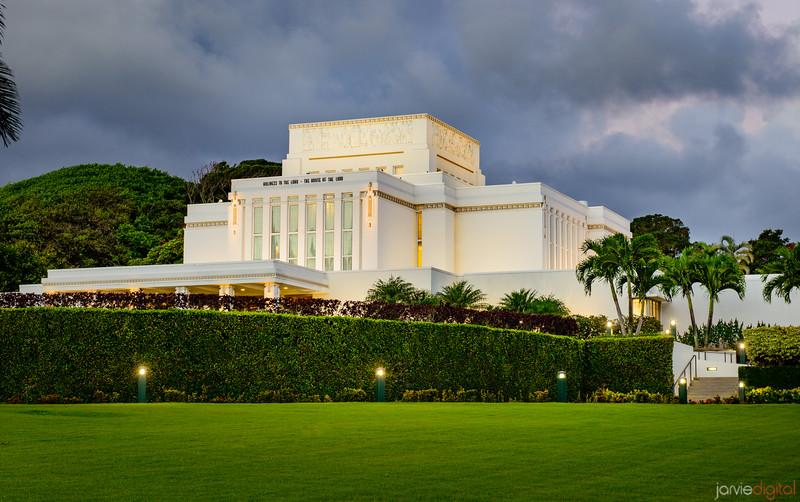 Laie Temple - Corner view
