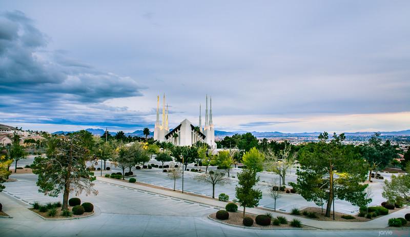 Las Vegas Temple From parking lot