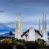 Las Vegas Temple Above the trees