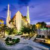 Las Vegas Temple Straight on