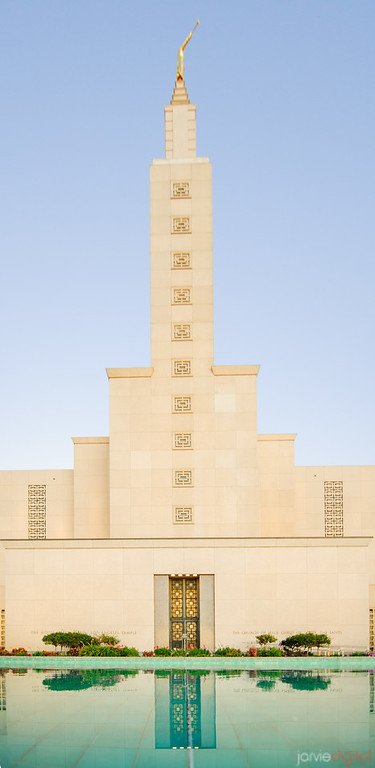 Los Angeles Temple - Vertical Entrance