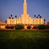 Los Angeles Temple Chirstmas lights