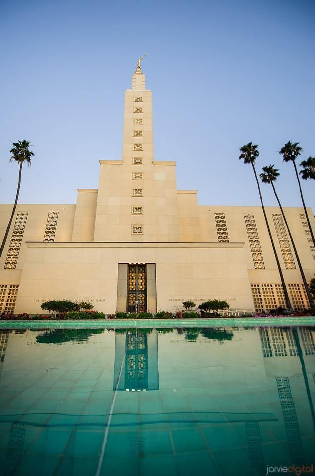 Los Angeles Temple Pool