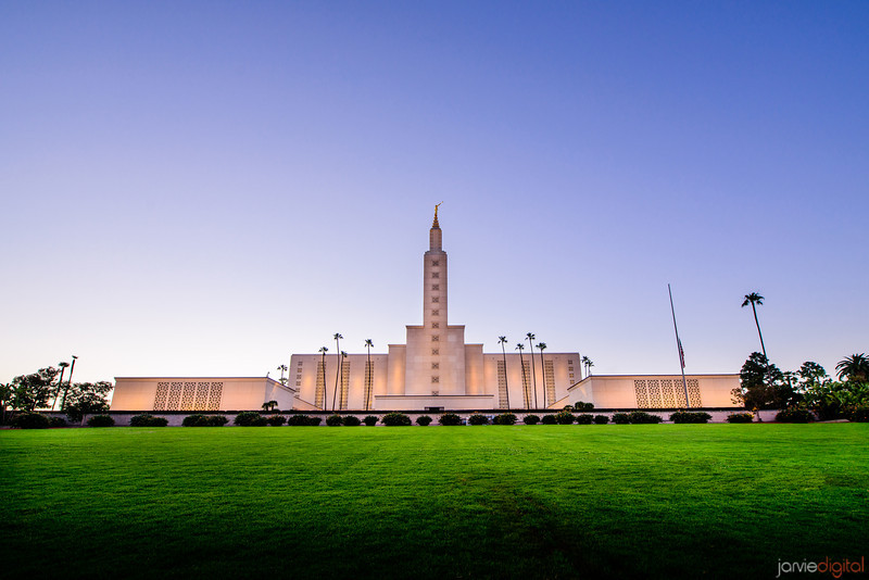 Los Angeles Temple (Front) _8D19115