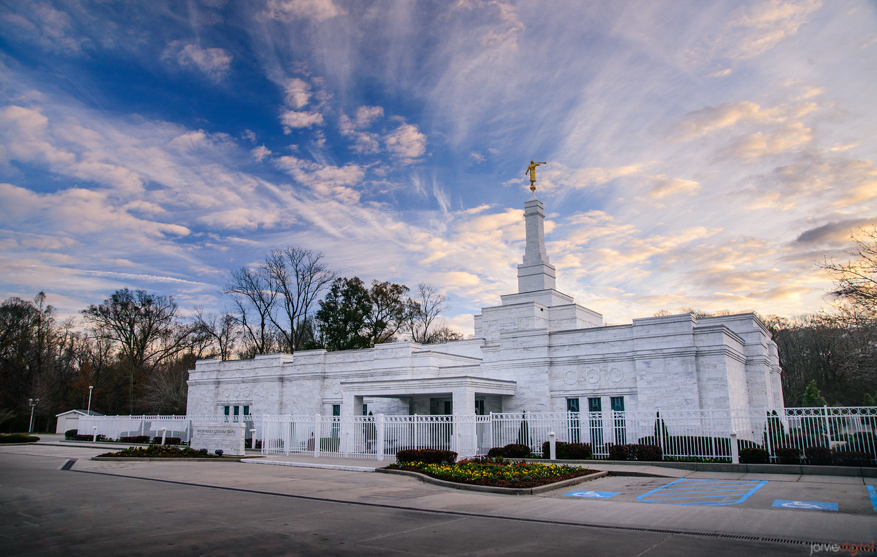 Baton Rouge Temple -  Blue Skies Breaking