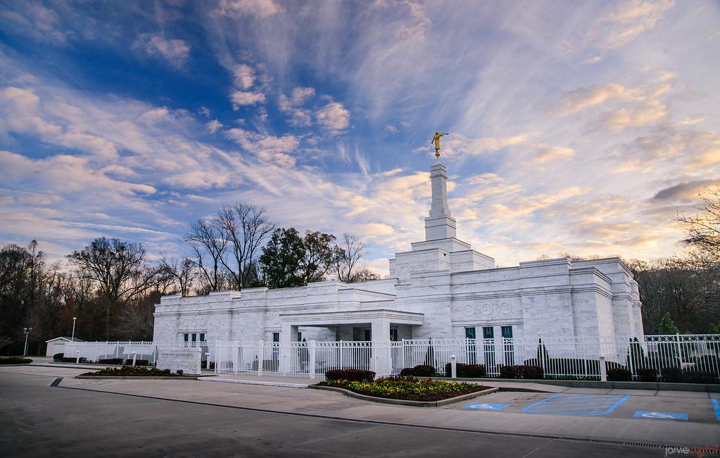Baton Rouge Temple -  Blue Skies Breaking